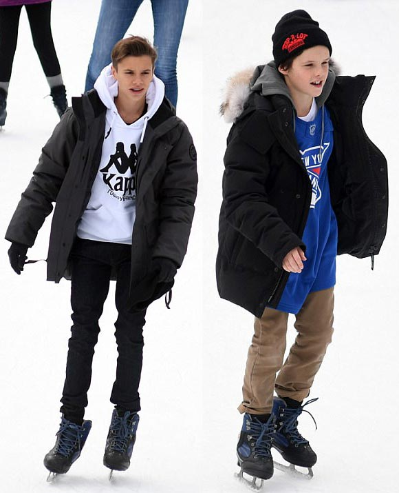 romeo-cruz-Beckham-skating-rink-feb-2018