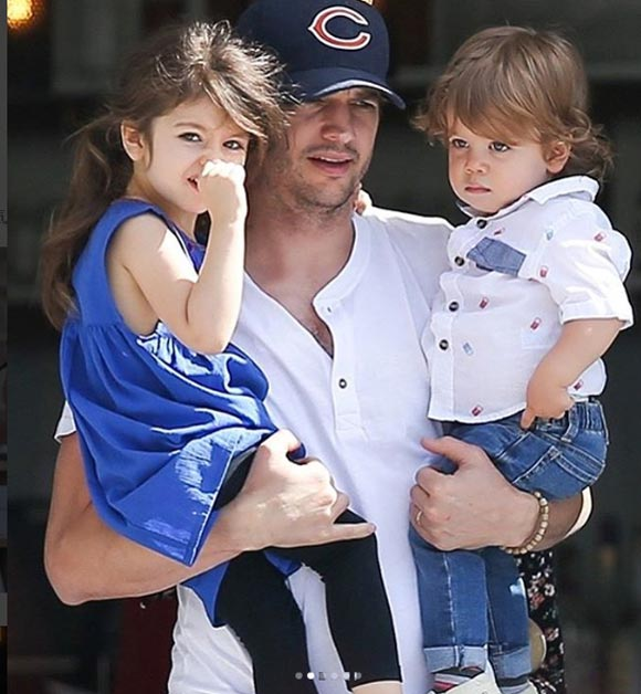 Ashton-Mila-daughter-son-may-2018-03