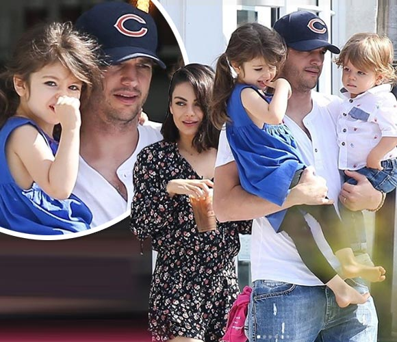 Ashton-Mila-daughter-son-may-2018