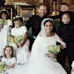 笑顔のジョージ王子&シャーロット王女!ヘンリー王子の結婚式公式写真公開