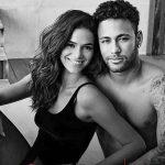 ブラジルの大物カップル、ネイマールと女優ブルーナ・マルケジーニ❤