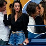 アレッサンドラ・アンブロジオ、イケメンの新恋人とテニス観戦中にキス!#全米オープンテニス