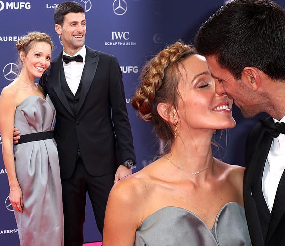 Novak-Djokovic-wife-Jelena-Laureus-Awards-2019
