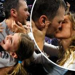 「スーパーボウル2019」ジゼル・ブンチェン、夫トム・ブレイディが優勝!娘ヴィヴィアンちゃんが喜びを爆発させる