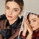 ミランダ・カー、ファッション誌「Gritty Pretty」表紙を飾る