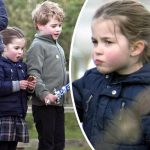 「最新画像」ジョージ王子とシャーロット王女がすくすく成長中!