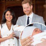 ヘンリー王子&メーガン妃、第1子を初披露!
