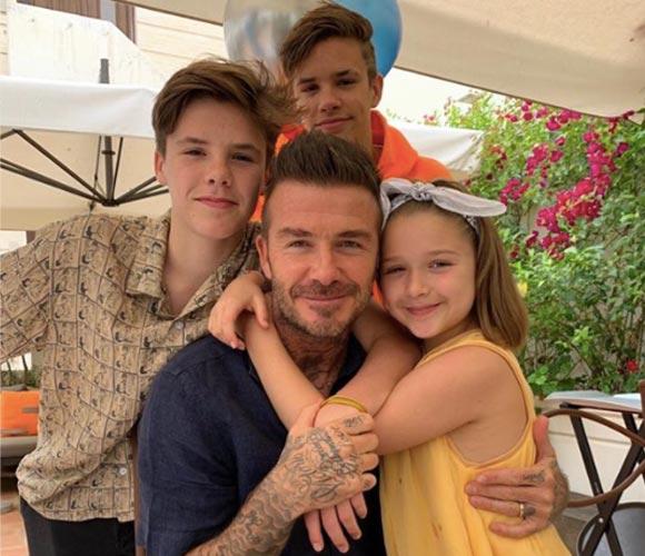 david-harper-romeo-cruz-beckham-fathers-day-2019