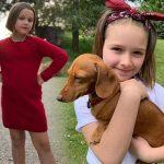 ベッカム家のプリンセス、ハーパーちゃんが8歳に!