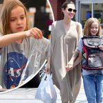 アンジェリーナ・ジョリー、娘ヴィヴィアンちゃんとペットショップにお出かけ!