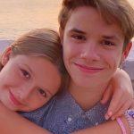 ロメオ・ベッカム、17歳の誕生日を家族がお祝い!#ハーパーちゃん