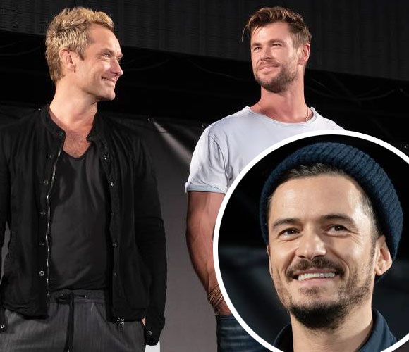 Orlando-Bloom-Christopher-Hemsworth-Jude-Law-tokyo-japan-2019