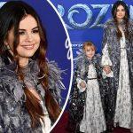 セレーナ・ゴメス、6歳の妹とお揃いドレスで「アナと雪の女王2」プレミア登場!