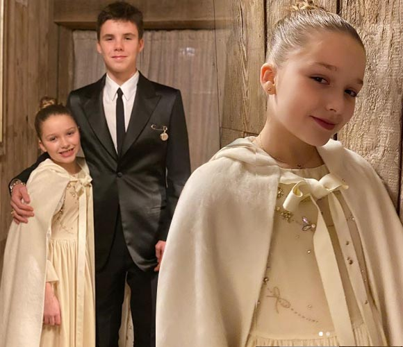 Beckham-daughter-Harper-son-Cruz-baptised-2019