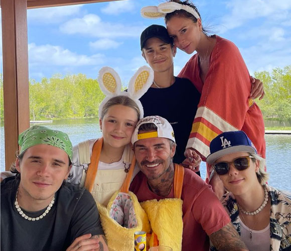 beckham-family-easter-2021